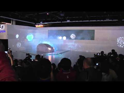 """Hyundai """"Salon Mondial Paris"""" Hyper Facade 2010"""