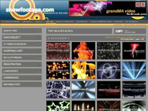 showfootage.com video Tutorial