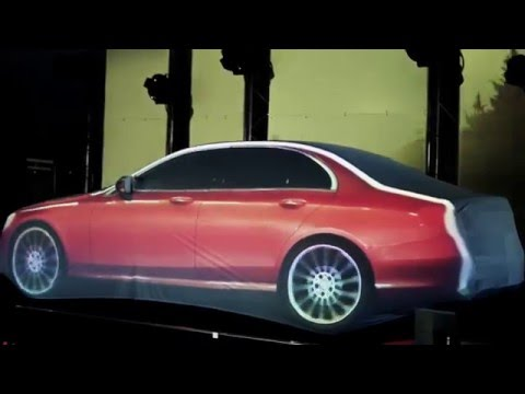 Video Mapping Mercedes New classE Spain