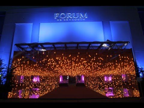 The Forum Prime Wedding 3D Video Mapping