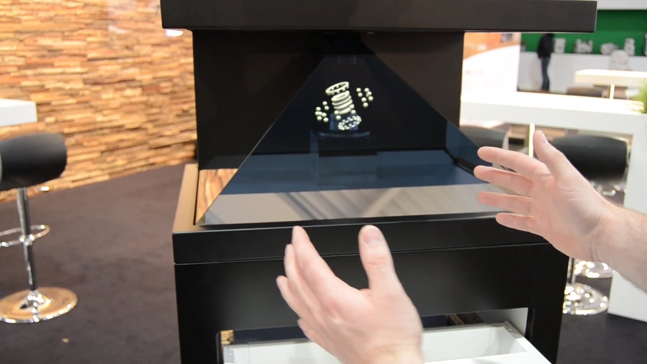 Interactive hologram