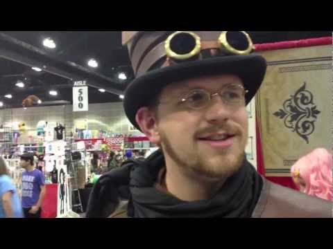 Anime Expo 2012 Will Blagg Tinker Table