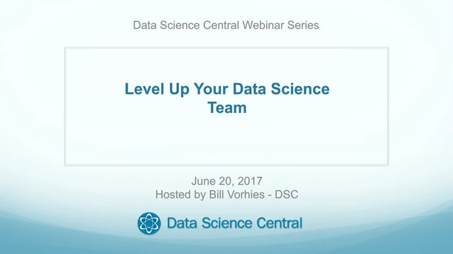 Level Up Your Data Science Team