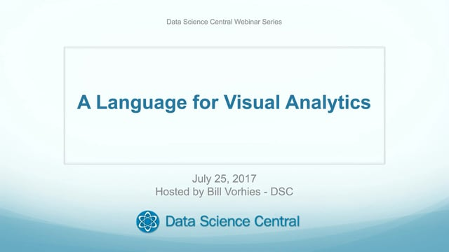 A Language for Visual Analytics