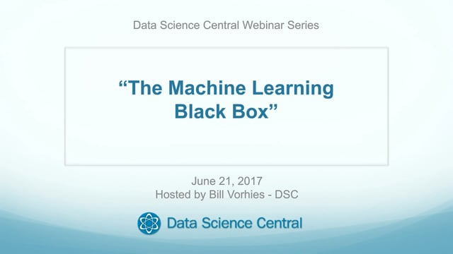 The Myth of the Machine Learning Black Box