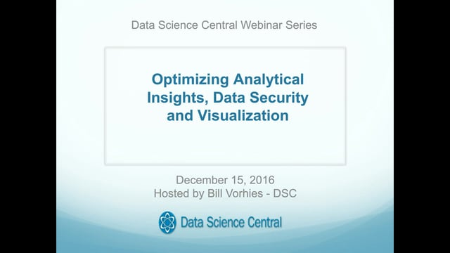 Optimizing Analytical Insights, Data Security and Visualization
