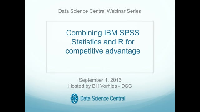 Combining IBM SPSS Statistics and R for competitive advantage