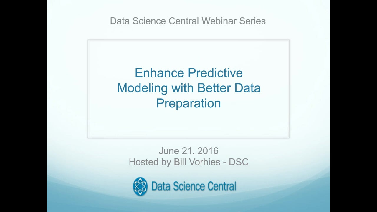 Enhance Predictive Modeling with Better Data Preparation