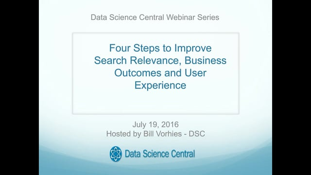 4 Steps to improve your Search Technology and Boost Sales, BI and User Experience