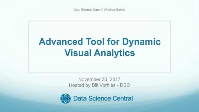 Advanced Tool for Dynamic Visual Analytics