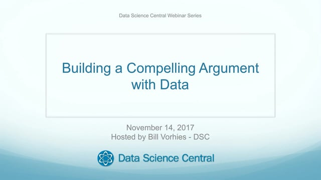 Building a Compelling Argument with Data