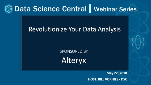DSC Webinar Series: Revolutionize Your Data Analysis