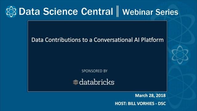 DSC Webinar Series: Data Contributions to a Conversational AI Platform