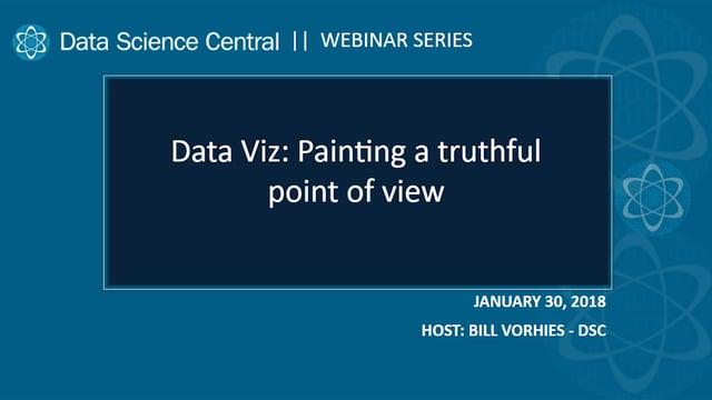 Data Viz: Painting a Truthful Point of View