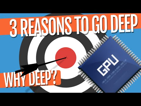 3 reasons to go Deep - Ep. 3 (Deep Learning SIMPLIFIED)