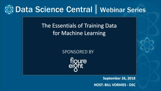 DSC Webinar Series: The Essentials of Training Data for Machine Learning
