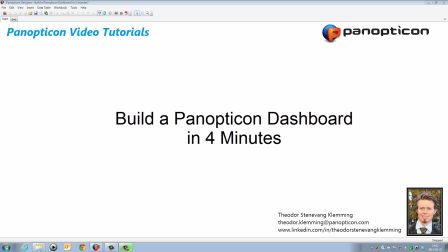 Build a complete analytical dashboard in 4 minutes