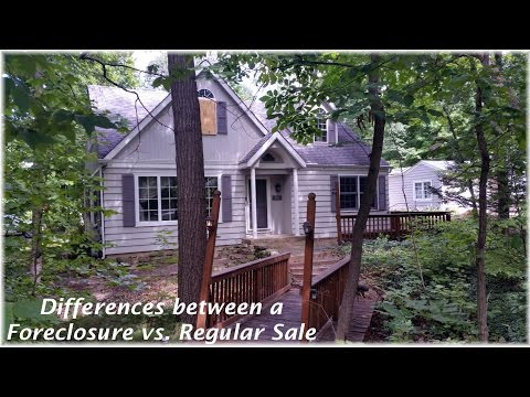 Differences Buying a Foreclosure vs. Regular Sale