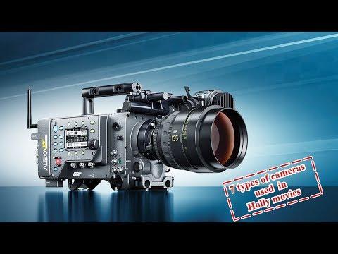 7 Best cinema camera used in Hollywood movie
