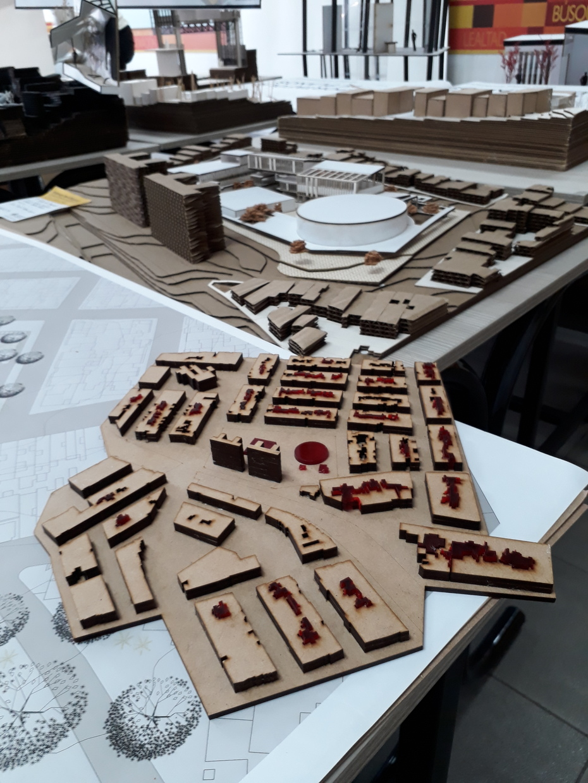 Entregas maquetas finales 2019-10 Arquitectura Universidad Pontificia Bolivariana-Medellín Colombia