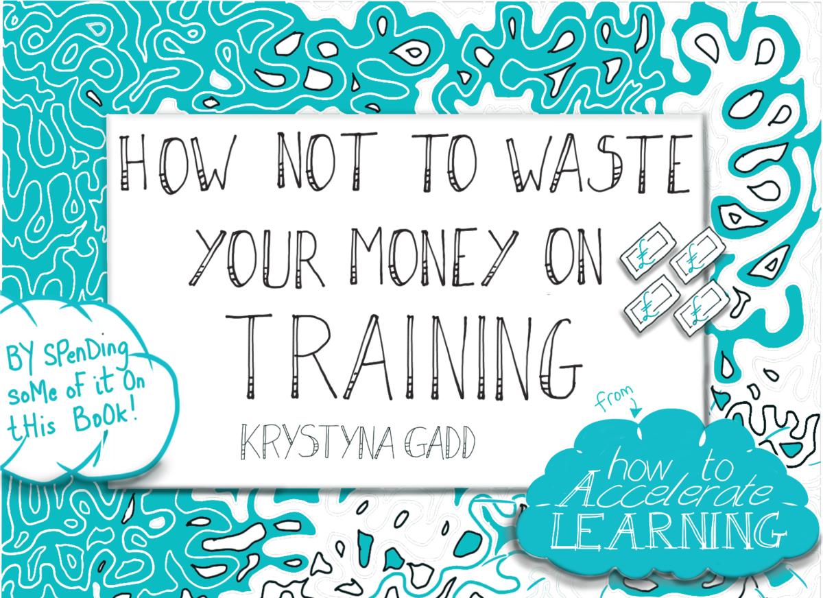 'How Not To Waste Your Money On Training' - 20% discount