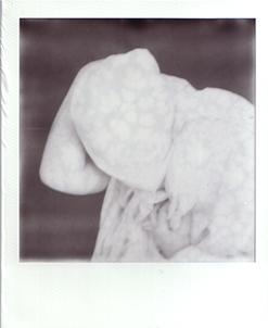 Ritratto con lenzuolo bianco #1