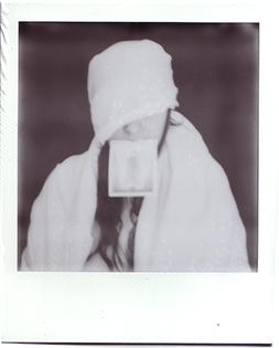 Ritratto con lenzuolo bianco #3