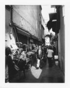 Fruit market in via Pescherie Vecchie