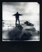 Pinhole Instant - Supersense 66-6 2 Impossible project film 600 BW