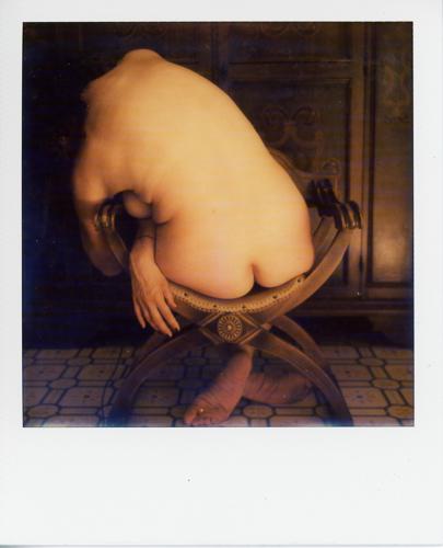 Nudo su sedia #3 - selfportrait
