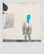 Antistress - Ghost - Polaroid (Impossible SX-70 BW) - 2016