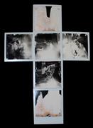 Antistress - Staglieno - 6 Polaroid (Impossible SX-70 B&W) - 2016