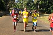Kocha Mkuu wa Timu ya Taifa ya Tanzania 'Taifa Stars' Kim Poulsen katika mbio hizo.