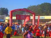 vodacom kilimarathon 2013 5km fun run finish line