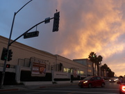 Sunset in Culver City, October 2012