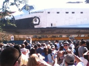 The Endeavour Space Shuttle at the California Science Center