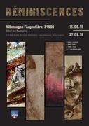 """Expositie """"Réminiscences""""Villemagne l'Argentière(34600)"""