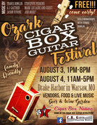 3rd Annual Ozark Cigar Box Guitar Music Festival