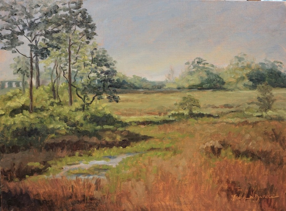 Marsh at SurfWatch 16x12 oil