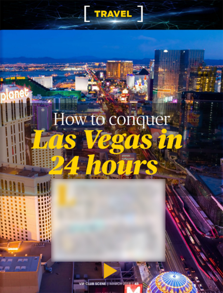 How to Conquer Las Vegas in 24 Hours