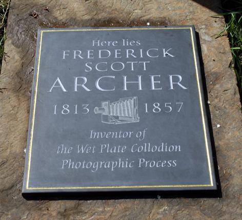 Scott Archer commemorative plaque / © Michael Pritchard 2010