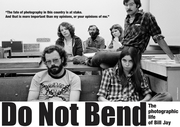 Scottish Premiere of Do Not Bend: The Photographic Life of Bill Jay