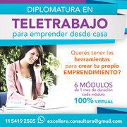 Diplomatura en Teletrabajo para Emprender desde Casa