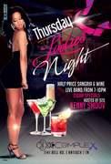 Thursday Ladies Night