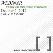 Webinar: Working with Data Trees in Grasshopper