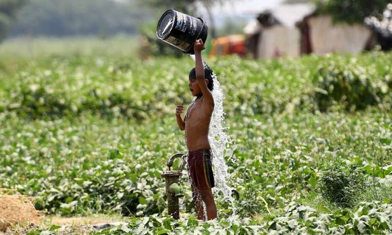 Phys.Org: India heatwave temperatures pass 50 Celsius