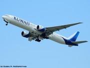 9K-AOF Kuwait Airways Boeing 777-369(ER) EDDM