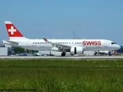 HB-JCK Swiss Bombardier CSeries CS300  EDDM