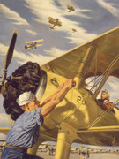The Art of Naval Aviation Exhibit