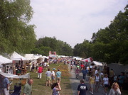 Round Lake Antiques festival